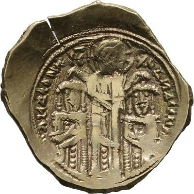 LANZ Constantinopolis Gold Hyperpyron Andronicus II Maria Tuerme Lilie $TEZ451