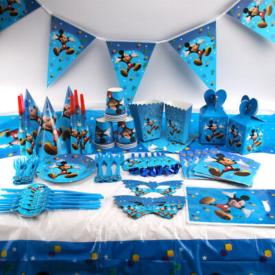 MICKEY MOUSE KINDERGEBURTSTAG Party Dekoration Micky Maus ...