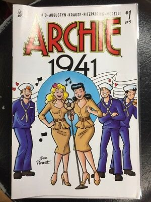 Archie 1941 #1 Dan Parent Variant Exclusive Cover Limited Run Store