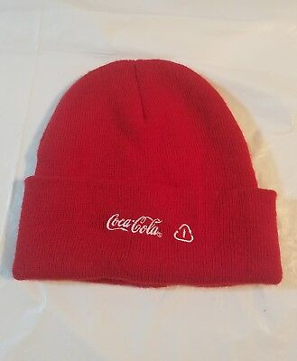 Coca Cola beanie -snow hat-red-New without tags-Refresh-Recycle-Reuse #16