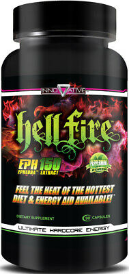 Innovative HellFire Fat Burner (90 Capsules) Extreme Weight Loss Supplement