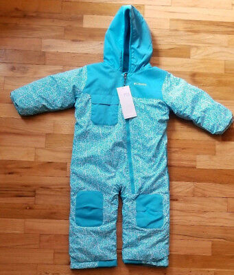 Nwt  Columbia Hot Tot Suit One Piece Snowsuit 3T New! $130  Pink Or Blue
