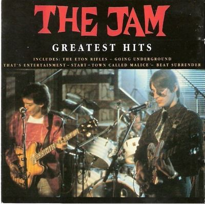THE JAM greatest hits (CD album, compilation, 1991) best of, punk, mod, new wave