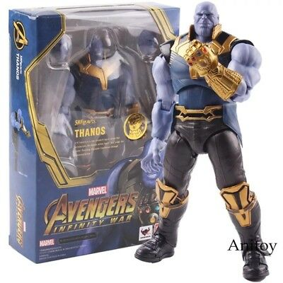Avengers:infinty War/ Figura Thanos 18 Cm- Thanos Sh Figuarts In Box