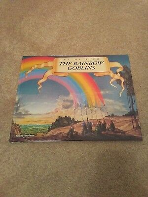 Ul De Rico The Rainbow Goblins AUTOGRAPHED BOOK signed byPrimus Les Claypool