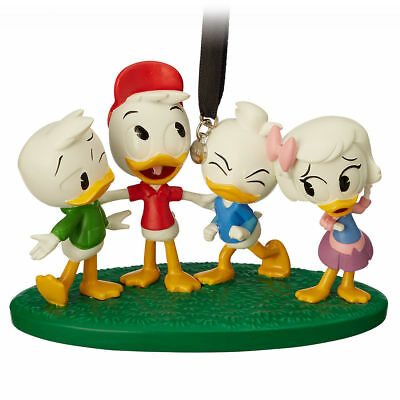Disney Store 2018 Boxed DUCK TAILS Sketchbook Ornament New