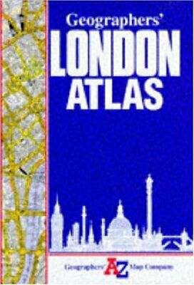 A. to Z. London Atlas (London Street Atlases) by Geographers' A-Z Map C Hardback