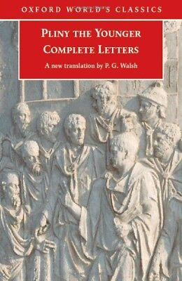 Complete Letters (Oxford World's Classics) by Pliny the Younger Paperback Book