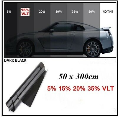 2PLY 10FT x 20'' 15% VLT Auto Car Home Glass Dyed Window Tint Tinting Film Roll