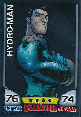 #33 HYDRO-MAN 2011 Topps Attax Marvel MIRROR FOIL SP SPIDER-MAN
