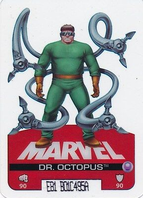 #20 DR OCTOPUS 2008 Marvel Edibas Lamincards SPIDER-MAN