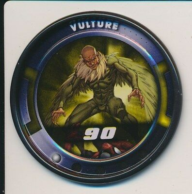 #3 VULTURE 2011 Marvel Metal Medallion Slingers SPIDER-MAN