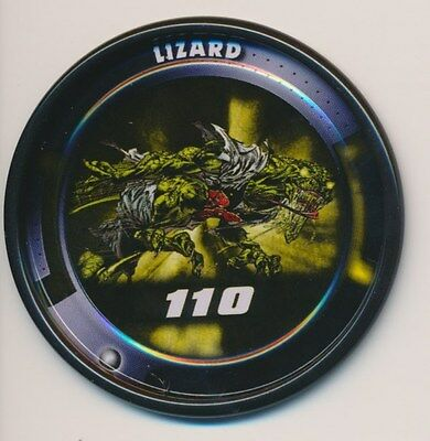 #10 LIZARD 2011 Marvel Metal Medallion Slingers SPIDER-MAN