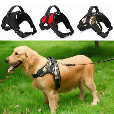 New Heavy Dog Harness Soft Mesh Padded Extra Big Large Medium Small Dog Harness