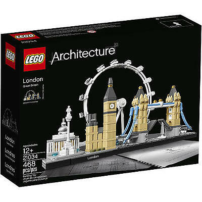 LEGO Architecture London 21034 Skyline Collection Building Model England NEW