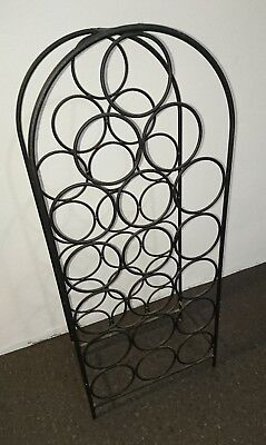 18 Bottle Metal Chic Classic Wine Rack Sydney