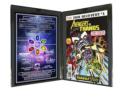 Collector's Edition True Believers Avengers Vs. Thanos #1 SS JIM STARLIN ENDGAME
