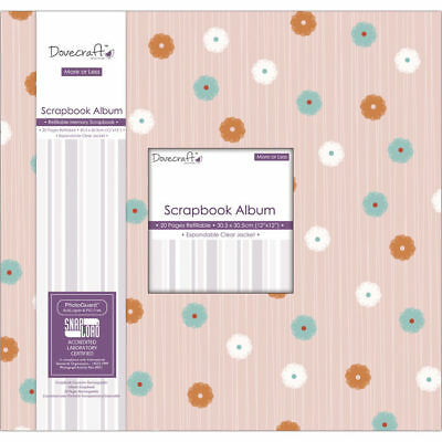 NEU Scrapbook Album More or Less, 30,5x30,5cm
