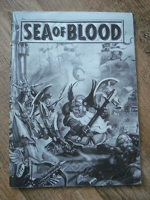 Games Workshop SEA OF BLOOD Man O' War Instruction Manual 52 Pages GC