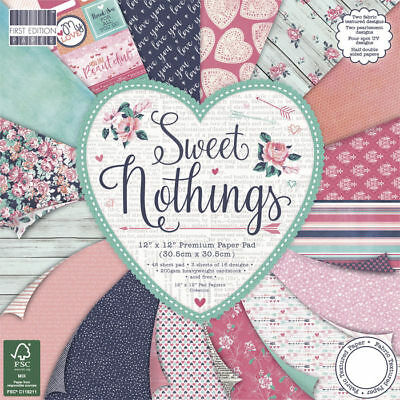 NEU Scrap-Block Sweet Nothings, 48 Bogen