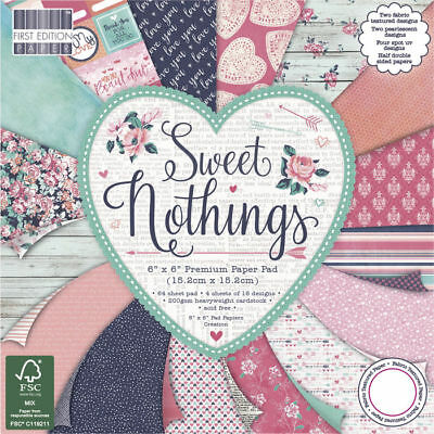 NEU Scrap-Block Sweet Nothings, 64 Bogen