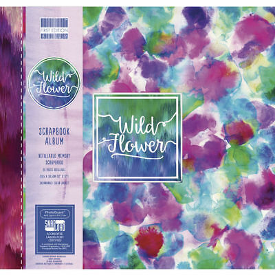 NEU Scrapbook Album Wild Flower, 30,5x30,5cm