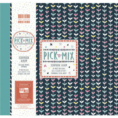 NEU Scrapbook Album Pick N Mix, 30,5x30,5cm