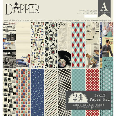 NEU Scrap-Block sort. Dapper, 24 Blatt