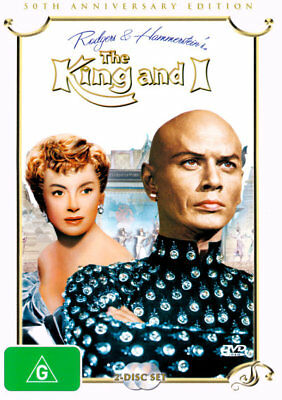 The  King and I (1956) (50th Anniversary 2 Disc Edition) NEW DVD (Region 4)