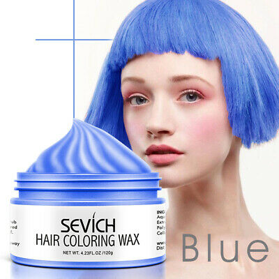 Sevich Hair Color Unisex Gel Temporary Color Cream  Hair Dye Wax Easy Wash Plant