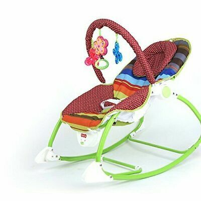 Best For Kids 2 IN 1 SCHAUKELSITZ BABYWIPPE ROCKER WIPPE BLAU GRÜN L68110