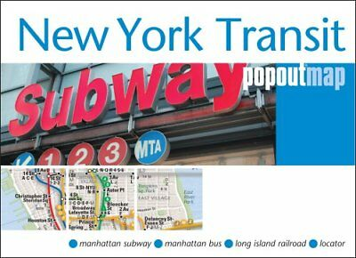 New York Transit PopOut Map by PopOut Maps 9781845879587
