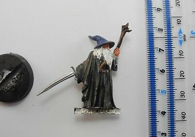GANDALF THE GREY Metal Lord of the Rings LOTR Good Army Wizard Warhammer 2