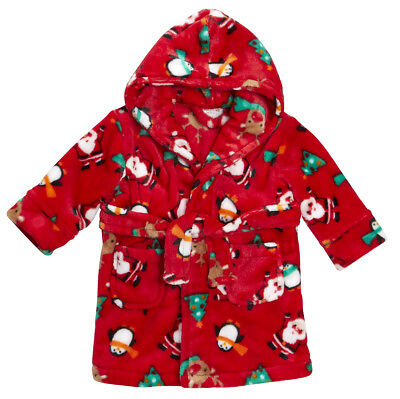 Childrens Christmas Dressing Gown
