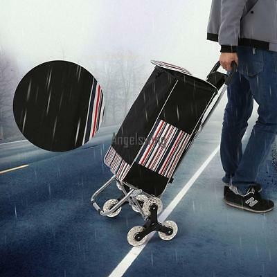 Climb Cart  Folding Grocery Laundry Shopping Utility push Trolly Handcart home