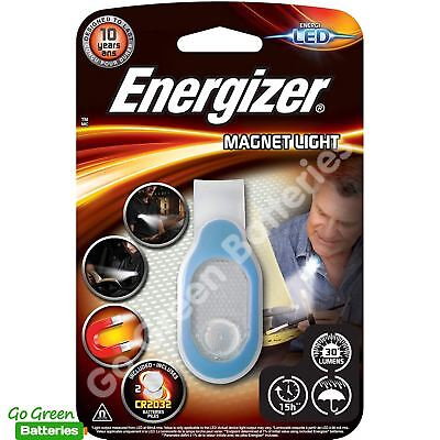 Energizer LED 30 Lumens Magnet Clip on Night Light Torch for Walking Running
