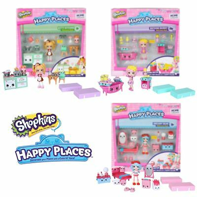 New Shopkins Happy Places Dreamy Bear Bathing Bunny Or Kitty Kitchen Official
