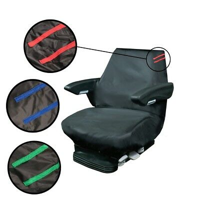 Heavy Duty Digger/Machinery Seat Covers Waterproof Tough Universal Includes Mini