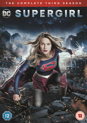Supergirl: The Complete Third Season DVD (2018) Melissa Benoist cert 12 5 discs
