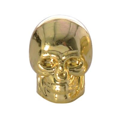 Oxford Bicycle Cycle Bike Essential Novelty Skeleton Valve Caps - Gold OF894G