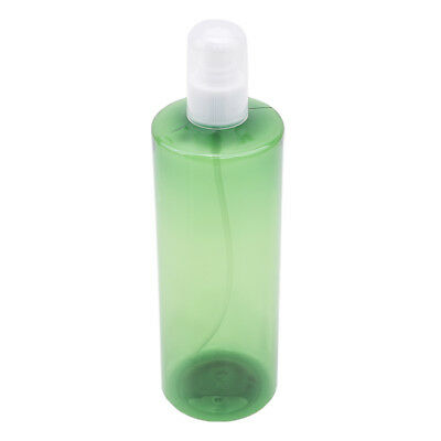 500ml Refillable Empty Matte Airless Pump Cream Lotion Bottle Container 6A