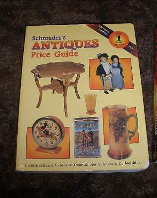 Schroeder's Antiques Price Guide Eleventh Edition 1993 Illustrated Value Guide