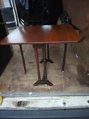 Antique mahogany pembroke occasional table-Sweet pembroke Table