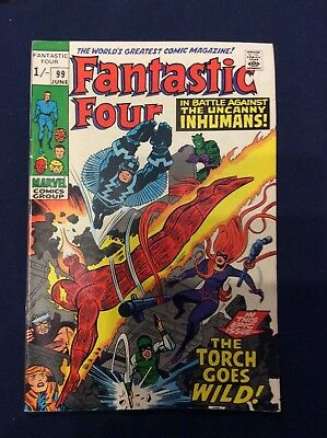 Fantastic Four #99 June 1970