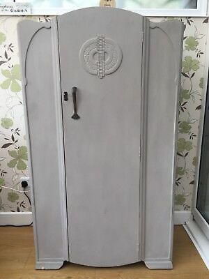 Small Vintage Painted Wardrobe