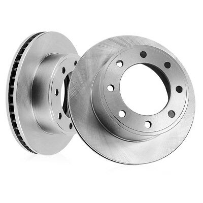 2008 2009 2010 Ford F-350 Super Duty 4WD Front /& Rear Brake Rotors and Pads DRW