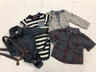 Lot Of Infant/baby Boy Clothes - Carters/ 7 (Seven) For All Mankind