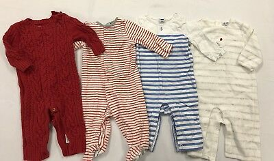 Lot Of Infant/baby Boy Clothes - Baby Boden/gap/janie & Jack