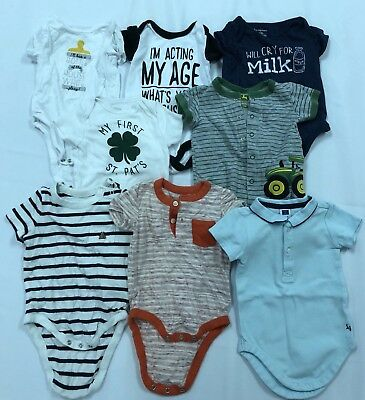 Lot Of Infant/baby Boy Clothes - Janie & Jack/gap/old Navy