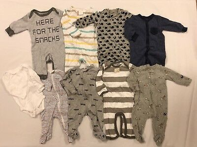 Lot Of Infant/baby Boy Clothes - Gap/carters/old Navy/burts Bees/aden
